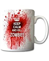 "Keramiktasse ""Keep Calm and Kill Zombies"""