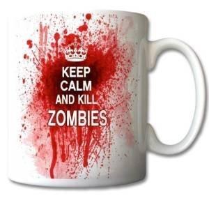 6 opinioni per uglymug- Tazza in ceramica con scritta Keep Calm and Kill Zombies