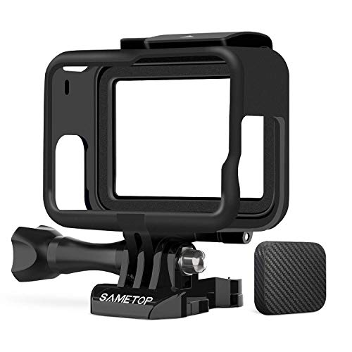 - Sametop Frame Mount Housing Case Compatible with GoPro Hero 7 Black, 7 Silver, 7 White, Hero 6, Hero 5, Hero (2018) Cameras
