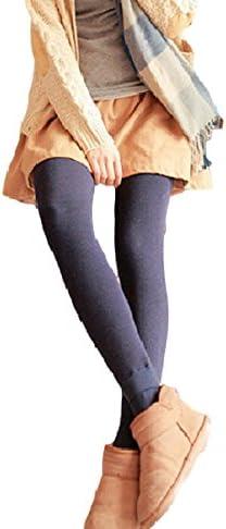 Spinas(スピナス) マタニティ 冬 パンツ レギンス あったか ベルベット 裏起毛 全5色 ブラック ダークグレー ネイビー ワインレッド ダークグリーン (XL, ネイビー)