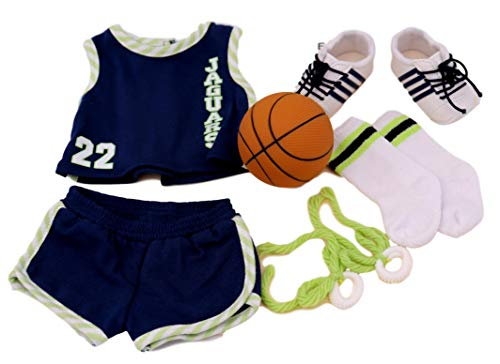 American Girl Julie's Basketball Uniform for 18-inch Dolls (Doll Julie Girl American Clothes)