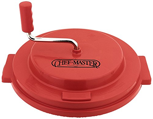 Chef-Master 90006 Salad Spinner Replacement Lid, Red by Chef-Master