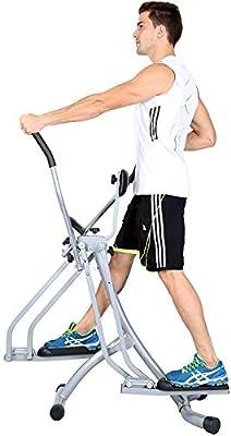 Máquina para hacer ejercicio en el gimnasio en cas Bicicleta elíptica, la bicicleta estática, vertical y horizontal movimiento oscilante, incorporado en el Equipo de Capacitación, espuma Maneja Acolch: Amazon.es: Hogar