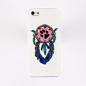 compra Patrón de la pluma del ancla del estuche rígido de policarbonato para el iPhone 5/5S , Multicolor