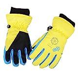 Azarxis Kids Children Ski Gloves Winter Snow Gloves Waterproof Breathable Winter Warm Gloves