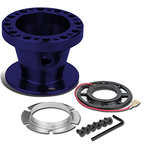 eel 6-Hole Hub Adaptor Kit (Blue) - 200ZX / 240SX / 300ZX / Sentra / Maxima (Aluminum Racing Steering Set)