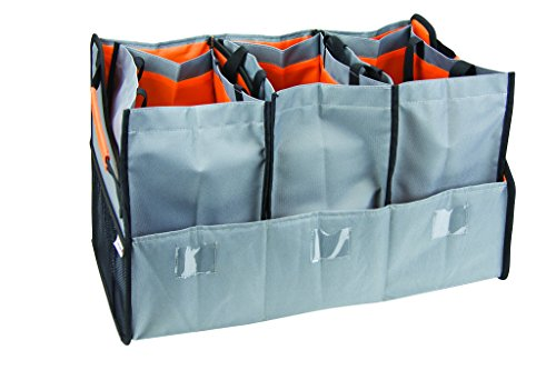 Highland 1950000 Trunk Organizer with 3 Tote