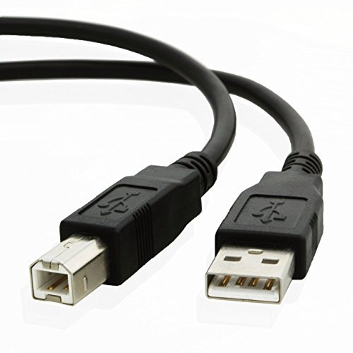6ft EpicDealz USB Cable for Canon PIXMA MG2520 Inkjet All-in-One Printer - Black