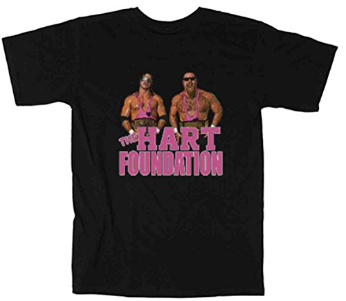 The Silo BLACK The Hart Foundation WWF T-Shirt YOUTH by The Silo