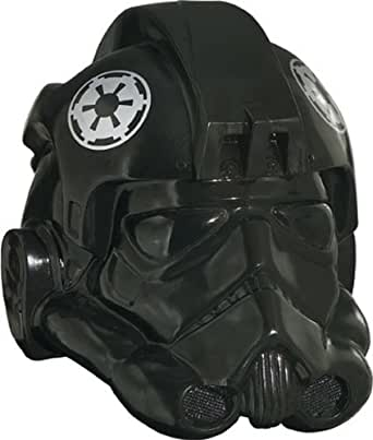 Star Wars Rubie's Men's Collectors Edition Fighter Helmet, Black, One Size