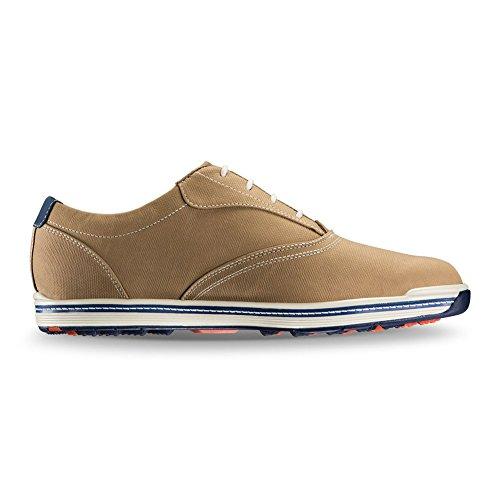 Footjoy Contour Casual Chaussure Charbon De Bois (pick Taille) Tan