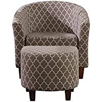 NHI Express 92009-16 Ivy Collection Tub Chair with Ottoman, Multi