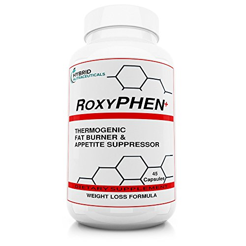 RoxyPhen - The Best and Strongest Fat Burner and Weight Loss Pills, Appetite Control, Supplement for Energy, Focus, Appetite Suppressant, Fat Burner, Diuretic, Fat Blocker! (45 Servings)