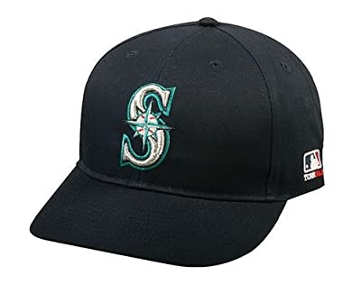 Seattle Mariners Youth MLB Licensed Replica Caps / All 30 Teams, Official Major League Baseball Hat of Youth Little League and Youth Teams