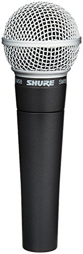 - Shure SM58-LC Cardioid Dynamic Vocal Microphone