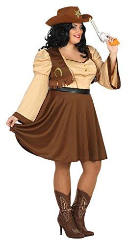 Atosa-31491 Disfraz Mujer Cowgirl Vaquera Color Amarillo XXL (31491  Amazon. es  Juguetes y juegos fac8c90a008