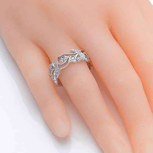 Flower Wedding Rings Ezobi