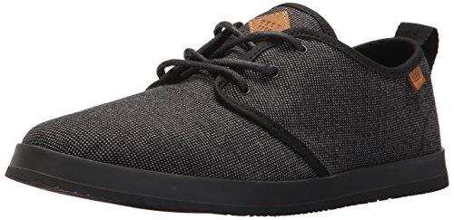 Mens Barriera Landis Tx Moda Sneaker Nero / Grigio