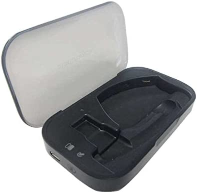 Amazon Com Plantronics Charge Case For Bluetooth Headset Voyager Legend Black Voyager Legend Portable Charge Case