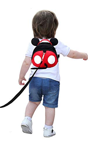 Baby Anti-Lost Harness, Yimidear Purified Cotton Toddler Backpack with Safety Leash for Babies & Kids Boys and Girls
