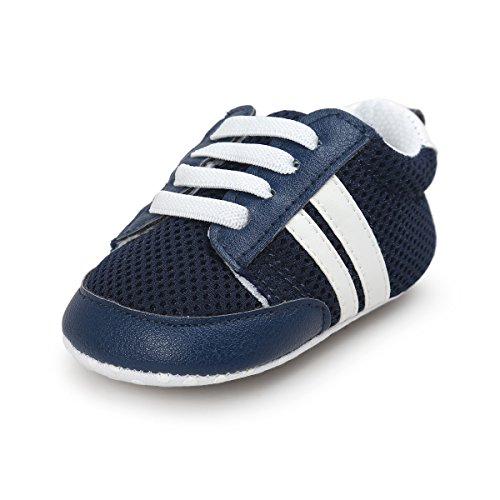 Soft Soles Classic Sandal (Mjun® Baby Boys Girls Toddler Sneaker Anti-Slip Soft Sole Shoes Mesh Lightweight Sneakers (6-12 Months, Blue))
