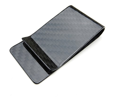 Carbon Fiber Money Clip - Black Gloss for sale  Delivered anywhere in USA