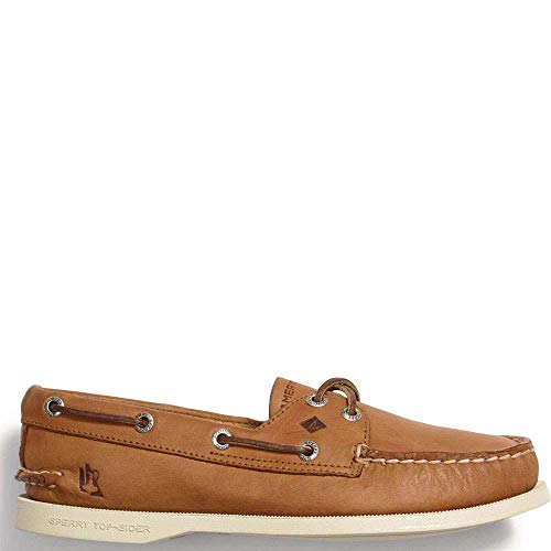 Sperry Top-Sider America's Cup Edition Authentic Original Boat Shoe Women 8.5 Tan