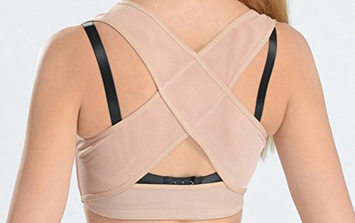 Price comparison product image Vinmax Women Hunchback Posture Shape Corrector Upper Shoulder With Push Up Bra