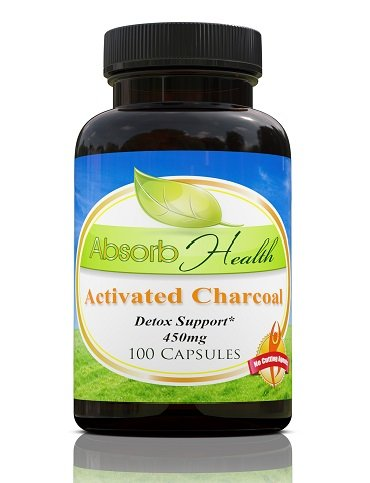 Activated Charcoal Detoxifies Capsules Capsule