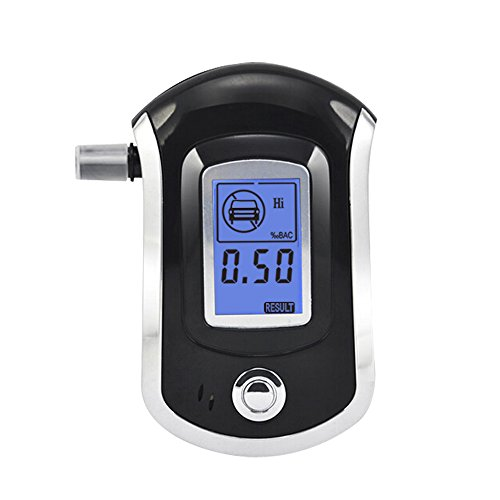 AHKUCI-Digital-Alcohol-Breathalyzer-Tester-Blue-Backlight-with-5-Mouthpieces