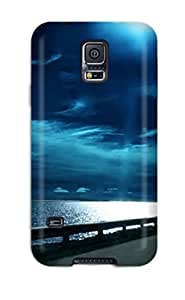 New Highway Nights Tpu Skin Case Compatible With Galaxy S5