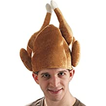 Forum Novelties Roasted Turkey Hat for Adults - One Size