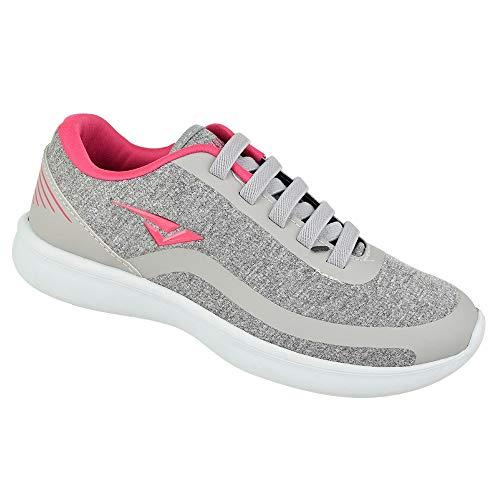 eacbff3408 Tênis Bouts Style Comfort Cinza rosa Feminino ...