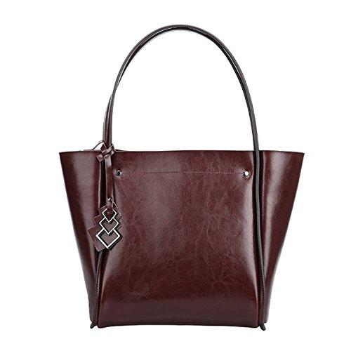 Q0828 Dissa Coffee Women Casual 29X15X29CM Fashion Bag Leather Shoulder Handbag LxWxH OdxdTqwEr
