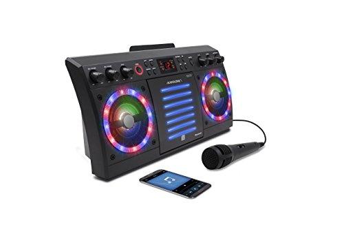 iKaraoke KS303B-BT Bluetooth CD&G Karaoke System, Black by iKaraoke (Image #4)