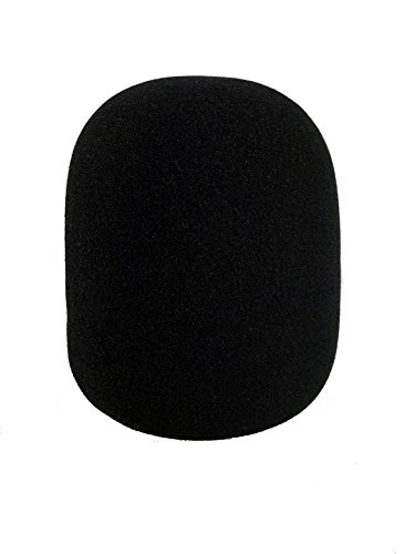 Tetra-Teknica Essentials Series XLWS-1P Extra Large Microphone Windscreen for Blue Yeti, MXL, Audio Technica, and Other Large USB Microphones , Color Black