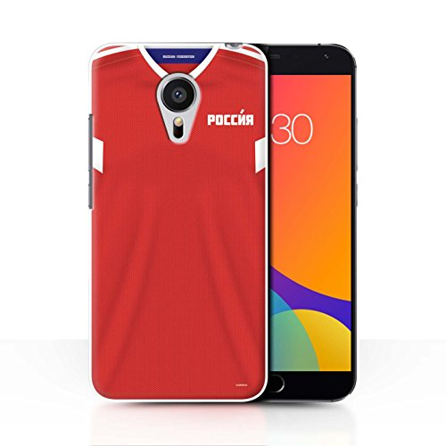 STUFF4 Phone Case/Cover for Meizu MX5/Russia/Russian Design/World Cup 2018 Football Shirt Collection