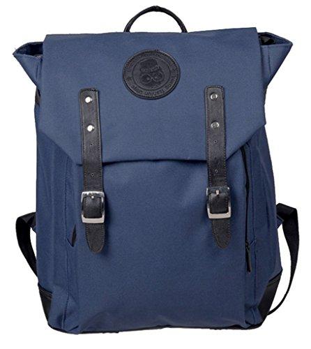 Drasawee - Bolso mochila para mujer Marrón azul claro 30*13*41cm azul