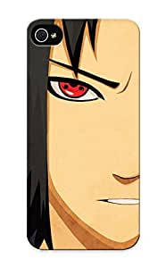 Durable Case For The Iphone 5/5s - Eco-friendly Retail Packaging(Anime Naruto Sasuke Uchiha)