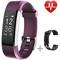 Lintelek Fitness Tracker, Heart Rate Monitor Activity...