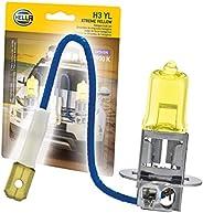 HELLA H3 YL Xtreme - Bombillas amarillas, 12 V, 55 W
