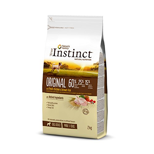 Comprar True Instinct Original Pienso para Perros Mini con Pollo - 2000 gr - Tiendas Online Piensos Especiales Perro - Envíos Baratos o Gratis 24/48H