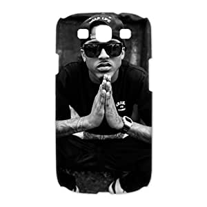 3D Print US Pop Singer&August Alsina Background Case Cover for Samsung Galaxy S3 I9300- Personalized Hard Cell Phone Back Protective Case Shell-Perfect as gift