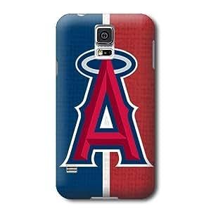S5caso, MLB Los Angeles ángeles patrón Samsung Galaxy S5cubiertas, caso duro durable cubre