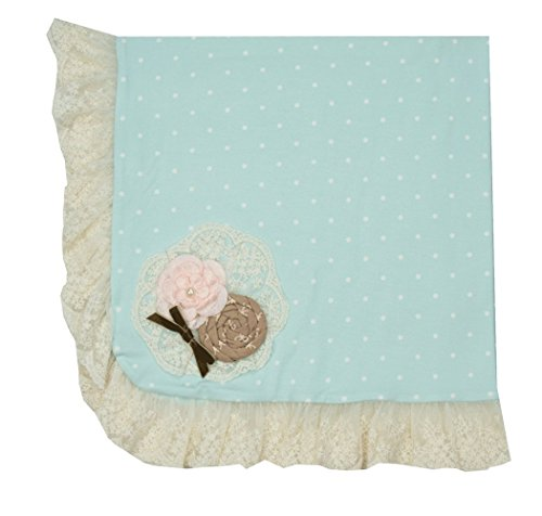 Haute Baby Dot - Haute Baby Baby Blue Dot Blanket