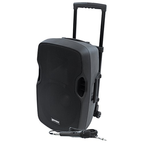Gemini AS-TOGO Series AS-12TOGO Professional Audio Bluetooth 12-inch Battery Powered Portable PA Loudspeaker with 400W Class AB Amplifier by Gemini