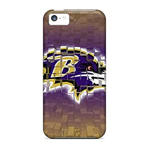 Iphone 5c Qzc7909DBNE Allow Personal Design High-definition Baltimore Ravens Series Best Hard Phone Case -IanJoeyPatricia