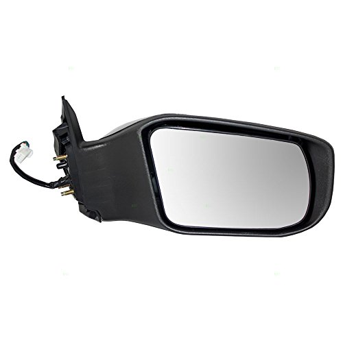 Power Mirror for 2013-2018 Nissan Altima Sedan Passenger Side View Ready-to-Paint Replaces 963013TH0A -