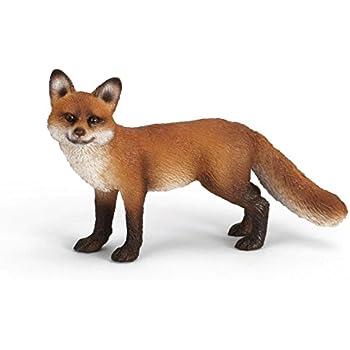 Schleich Red Fox Toy Figure
