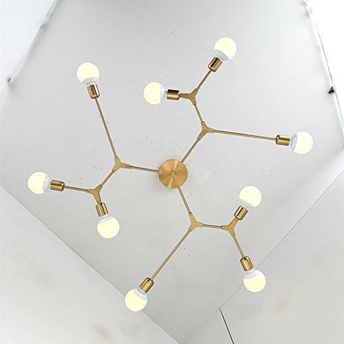Bokt Mid Century Modern 9 Light Chandeliers Multi Adjustable